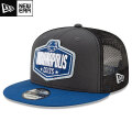 NFL 2021ドラフト9FIFTYキャップ コルツ New Era Indianapolis Colts Graphite/Royal 2021 NFL Draft 9FIFTY Snapback Cap