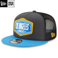 NFL 2021ドラフト9FIFTYキャップ チャージャース New Era Los Angeles Chargers 2021 NFL Draft 9FIFTY Snapback Cap