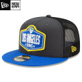 NFL 2021ドラフト9FIFTYキャップ ラムズ New Era Los Angeles Rams Graphite/Royal 2021 NFL Draft 9FIFTY Snapback Cap