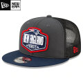 NFL 2021ドラフト9FIFTYキャップ ペイトリオッツ New Era New England Patriots Graphite/Navy 2021 NFL Draft 9FIFTY Snapback Cap