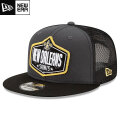 NFL 2021ドラフト9FIFTYキャップ セインツ New Era New Orleans Saints Graphite/Black 2021 NFL Draft 9FIFTY Snapback Cap