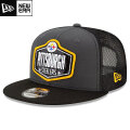 NFL 2021ドラフト9FIFTYキャップ スティーラーズ New Era Pittsburgh Steelers Graphite/Black 2021 NFL Draft 9FIFTY Snapback Cap