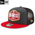 NFL 2021ドラフト9FIFTYキャップ フォーティナイナーズ New Era San Francisco 49ers 2021 NFL Draft 9FIFTY Snapback Cap