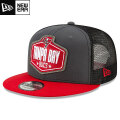 NFL 2021ドラフト9FIFTYキャップ バッカニアーズ New Era Tampa Bay Buccaneers Graphite/Red 2021 NFL Draft 9FIFTY Snapback Cap