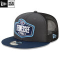 NFL 2021ドラフト9FIFTYキャップ タイタンズ New Era Tennessee Titans Graphite/Navy 2021 NFL Draft 9FIFTY Snapback Cap