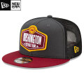 NFL 2021ドラフト9FIFTYキャップ ワシントン New Era Washington Football Team Graphite/Burgundy 2021 NFL Draft 9FIFTY Snapback Cap