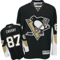 NHL プレミアジャージ(ユース) シドニー・クロスビー ペンギンズ Reebok Penguins Sidney Crosby Youth Premier Home Jersey