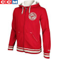NHL CCM Black Iceフルジップフーディー レッドウィングス(レッド) CCM Detroit Red Wings Black Ice Full Zip Hoodie - Red