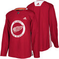 NHL プラクティス ジャージ レッドウィングス(レッド) adidas Detroit Red Wings Red Practice Jersey