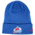 NHL ベーシック カフド ニットキャップ アバランチ(ブルー) adidas Colorado Avalanche Blue Cuffed Knit Cap