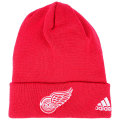 NHL ベーシック カフド ニットキャップ レッドウィングス(レッド) adidas Detroit Red Wings Red Cuffed Knit Cap