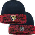 NHL選手着用モデル カフド ニットキャップ パンサーズ(ネイビー/レッド) Florida Panthers Navy/Red Cuffed Knit Cap