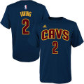 NBA カイリー・アービング Tシャツ(ジュニア ネイビー)キャバリアーズ adidas Cleveland Cavaliers Kyrie Irving