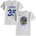 NBA ケビン・デュラント Tシャツ(ジュニア ホワイト)ウォリアーズ adidas Golden State Warriors Kevin Durant Game Time T-Shirt