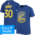 NBA ステフィン・カリー ネーム&ナンバーTシャツ ウォリアーズ(ジュニア ブルー) Nike Stephen Curry Golden State Warriors Youth