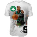 NBAレイジョン・ロンド Poster Tシャツ ブルズ(ジュニア) Level Wear Boston Celtics Rajon Rondo Youth Poster T-Shirt