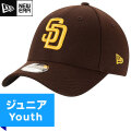 MLB パドレス レプリカ9FORTYキャップ(ジュニア) New Era San Diego Padres Youth Game Replica 9Forty Cap
