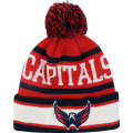 NHL The Original II ニットキャップ キャピタルズ(ジュニア) New Era Washington Capitals Youth Red