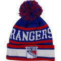 NHL The Original II ニットキャップ レンジャース(ジュニア) New Era New York Rangers Youth Blue