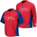 MLB オーセンティックConvertible Gamer ジャケット フィリーズ Majestic Philadelphia Phillies