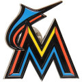 MLB チームロゴ ピンバッジ マーリンズ Miami Marlins Team Logo Pin