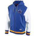 MLB ナイキ Cooperstown Varsity フーディー マリナーズ Nike Seattle Mariners Cooperstown Varsity Full Zip Hoodie - Royal Blue