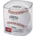MLB 2018ワールドシリーズ公式球 Rawlings 2018 World Series Official Game Baseball Cubed