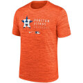 MLBオーセンティックVelocity Practice Tシャツ アストロズ(オレンジ) Nike Houston Astros Heathered Orange