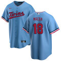 MLB レプリカジャージ 前田健太(オルタネイト)ツインズ Nike Kenta Maeda Minnesota Twins Light Blue Alternate Replica Jersey