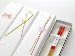 卒業記念箸 色彩