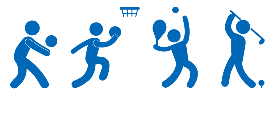 様々なスポーツで使用可能