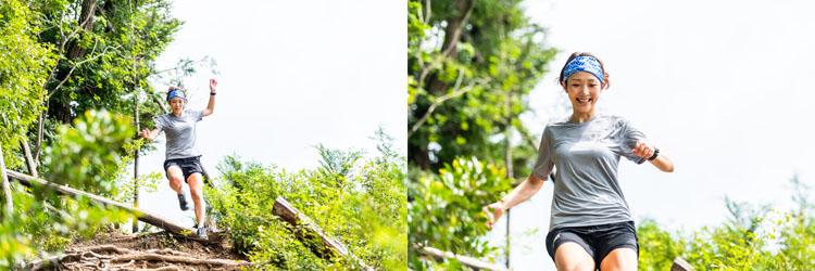 ジャパンウルトラマラソンチャレンジシリーズ限定 軽量ドライTシャツ