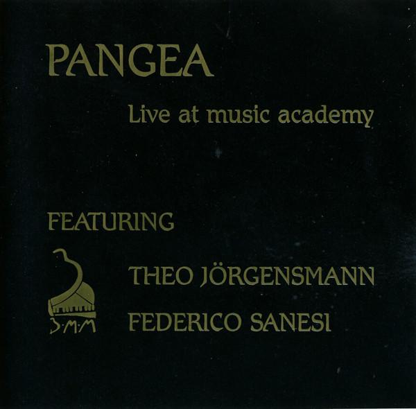 Pangea Featuring Theo Jorgensmann, Federico Sanesi: Live At Music Academy