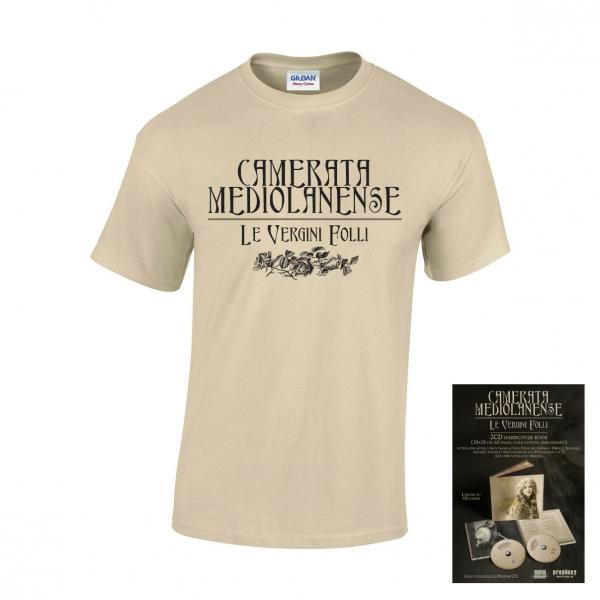 Camerata Mediolanense: Le Vergini Folli (Book+2CD+T-Shirt) 【予約受付中】