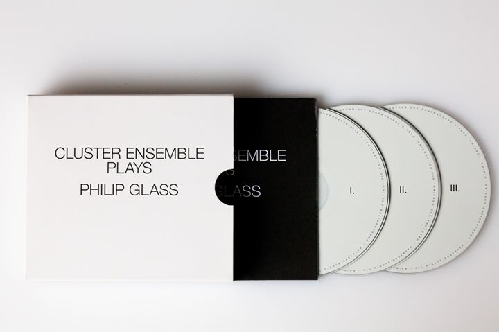 Cluster Ensemble: Cluster ensemble plays Philip Glass (3CD) 【予約受付中】