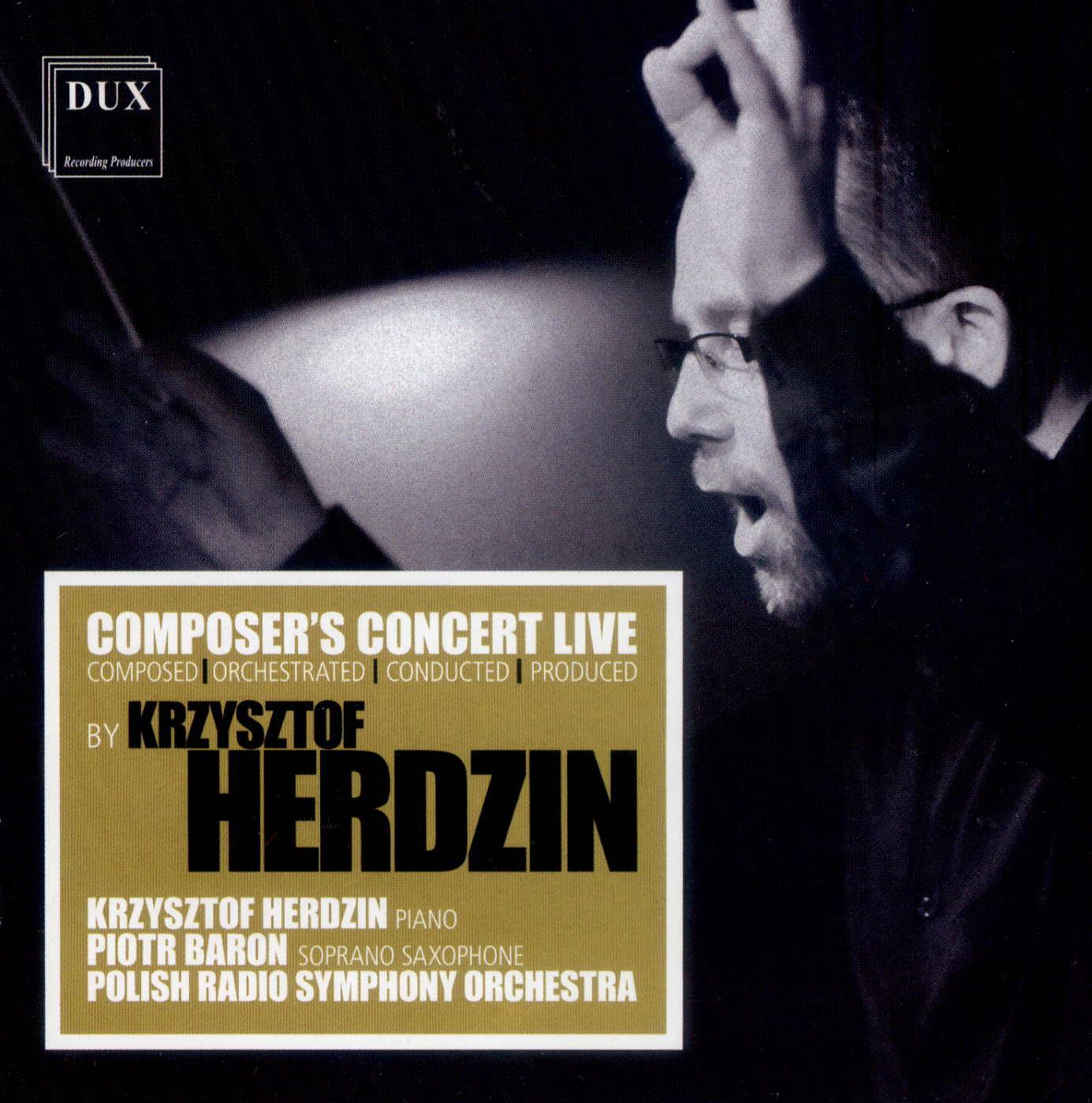 Krzysztof Herdzin: Composer's Concert Live 【予約受付中】