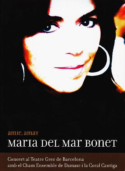 Maria Del Mar Bonet: Amic,Amat (DVD)