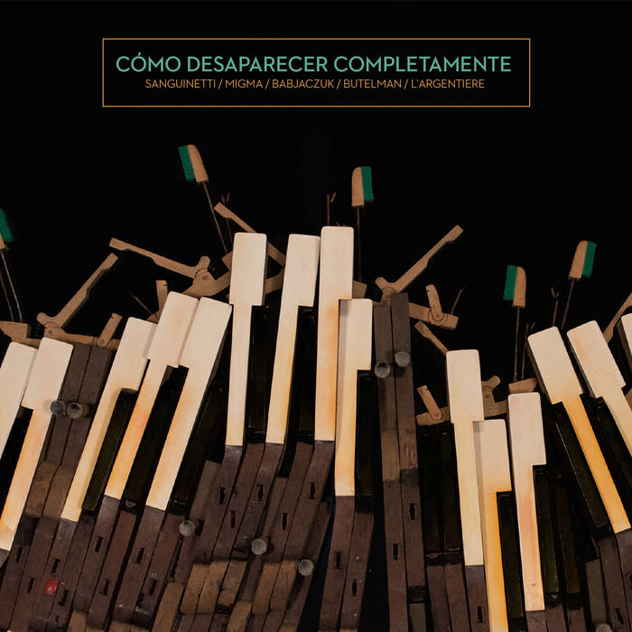 Marco Sanguinetti: Como Desaparecer Completamente(2CD) 【予約受付中】