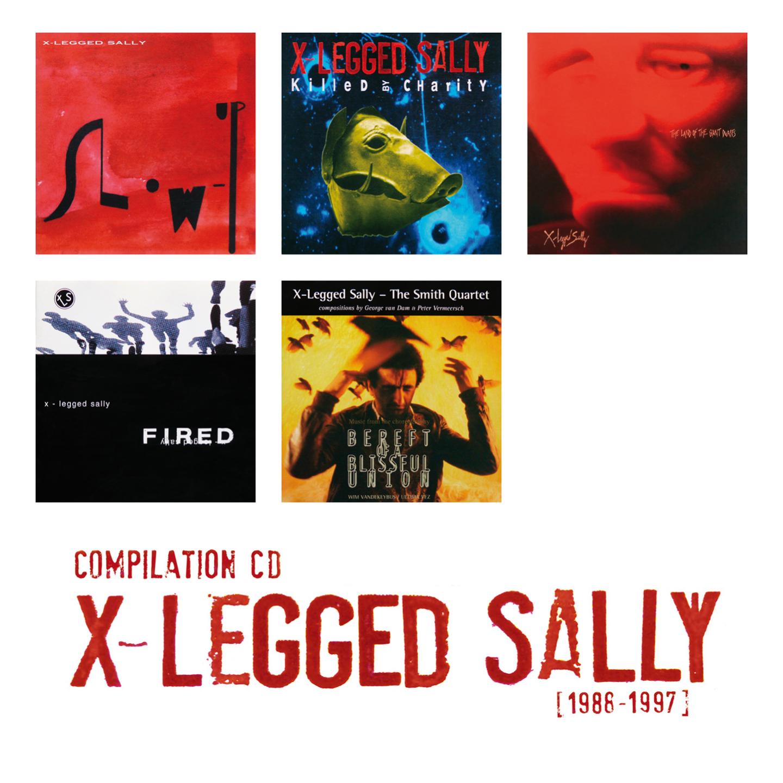Flat Earth Society: Compilation X-Legged Sally [1986-1997]【予約受付中】
