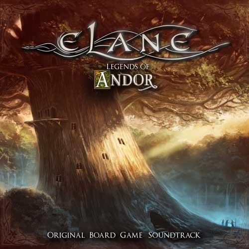 Elane: Legends of Andor-Original Board Game Soundtrack 【予約受付中】