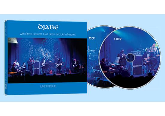 Djabe: Live in Blue (2CD) 【予約受付中】