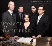 Bagyi Balazs New Quartet: Homage to Shakespeare 【予約受付中】