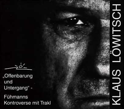 """Klaus Lowitsch: """"Offenbarung und Untergang,,(2CD)"""
