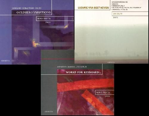 Miki Skuta: Goldberg Variations / Works for Keyboard / 32 variations WoO 80 ...【予約受付中】