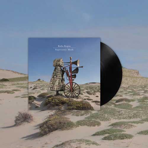 Kuba Kapsa: Supersonic Moth(Black Vinyl) 12'' 【予約受付中】