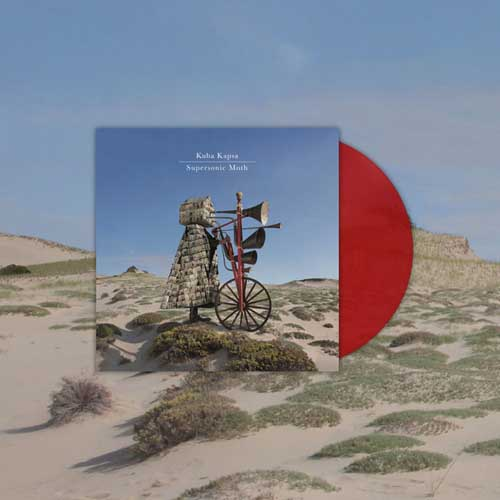 Kuba Kapsa: Supersonic Moth(Clear Red Vinyl) 12'' 【予約受付中】