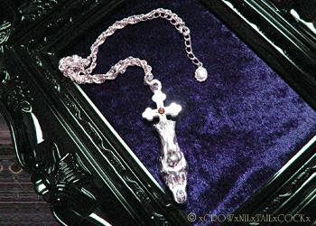 聖母マリアネックレス Act of MOTHERHOOD Silver925 ガーネット