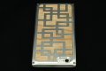 iPhone 6専用ジュラルミン削り出し アルミと天然木のiPhoneケース GEO-HYBRID