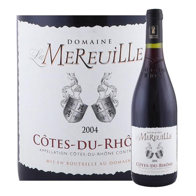 コート・デュ・ローヌ ドメーヌ・ラ・ムルイユ 2004