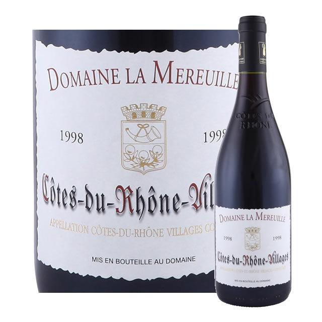 コート・デュ・ローヌ・ヴィラージュ ドメーヌ・ラ・ムルイユ 1998